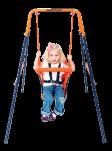 M08658-01 - Deluxe Folding Toddler Swing