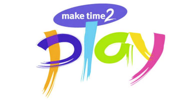 Make time to play logo