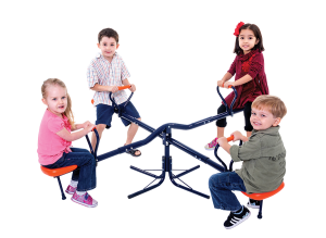 M08845 - Roundabout Seesaw